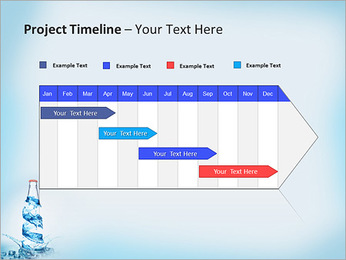 Bottled Water PowerPoint Template - Slide 5