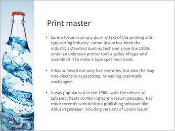 Bottled Water PowerPoint Template - Slide 76