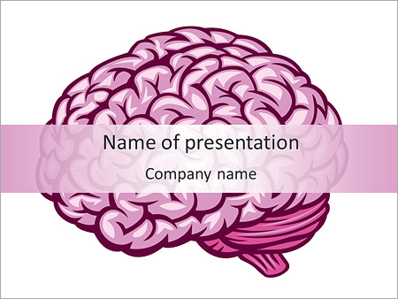 Human Brain Powerpoint Template & Backgrounds Id 0000004888