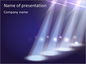 Concert Stage PowerPoint Template