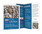Stones At Beach Brochure Templates