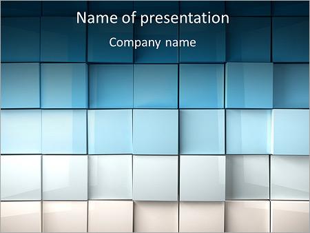 Carrés de surface Modèles des présentations  PowerPoint
