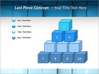 Carrés de surface Modèles des présentations  PowerPoint - Diapositives 11