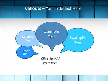 Carrés de surface Modèles des présentations  PowerPoint - Diapositives 53