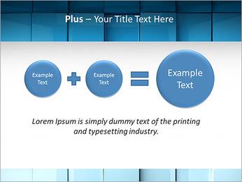 Carrés de surface Modèles des présentations  PowerPoint - Diapositives 55