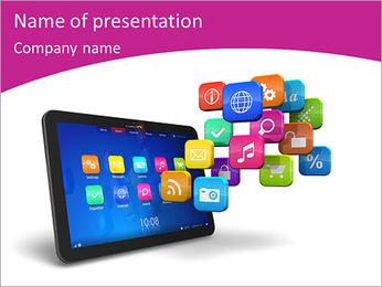 IPad Gudjets PowerPoint Template