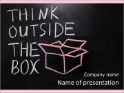 Think Outside The Box PowerPoint Templates