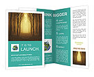 Mysterious Forest Brochure Templates