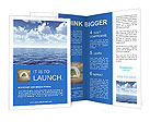Water Surface Brochure Templates