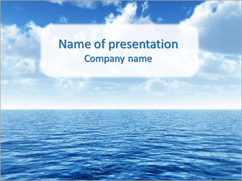 Water Surface PowerPoint Template