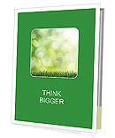 Fresh Green Grass Prospectus de présentation