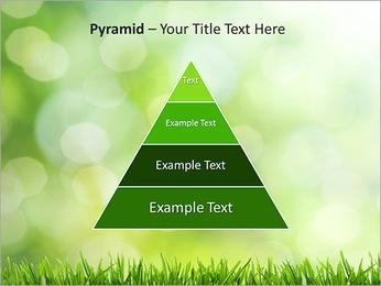L'herbe verte fraîche Modèles des présentations  PowerPoint - Diapositives 10
