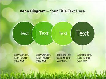 L'herbe verte fraîche Modèles des présentations  PowerPoint - Diapositives 12