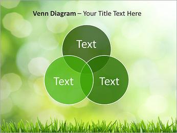 L'herbe verte fraîche Modèles des présentations  PowerPoint - Diapositives 13