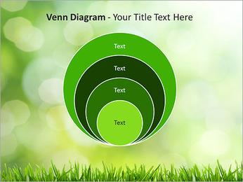L'herbe verte fraîche Modèles des présentations  PowerPoint - Diapositives 14