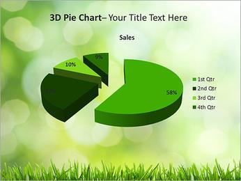 L'herbe verte fraîche Modèles des présentations  PowerPoint - Diapositives 15
