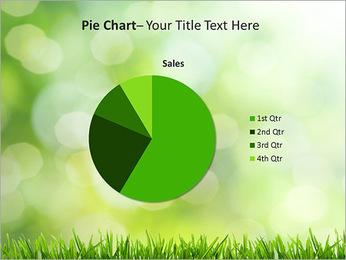 L'herbe verte fraîche Modèles des présentations  PowerPoint - Diapositives 16