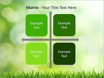 L'herbe verte fraîche Modèles des présentations  PowerPoint - Diapositives 17