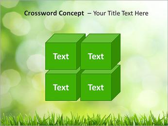 L'herbe verte fraîche Modèles des présentations  PowerPoint - Diapositives 19