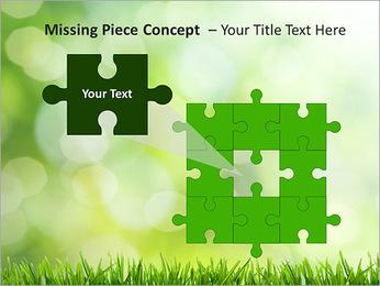 L'herbe verte fraîche Modèles des présentations  PowerPoint - Diapositives 25