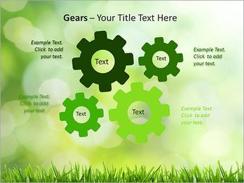 L'herbe verte fraîche Modèles des présentations  PowerPoint - Diapositives 27