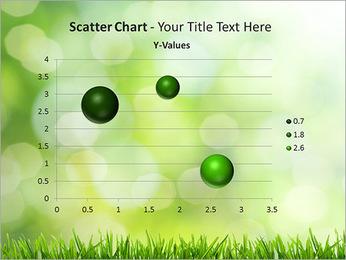 L'herbe verte fraîche Modèles des présentations  PowerPoint - Diapositives 29