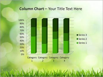 L'herbe verte fraîche Modèles des présentations  PowerPoint - Diapositives 30