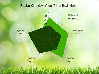 L'herbe verte fraîche Modèles des présentations  PowerPoint - Diapositives 31