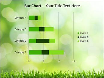 L'herbe verte fraîche Modèles des présentations  PowerPoint - Diapositives 32