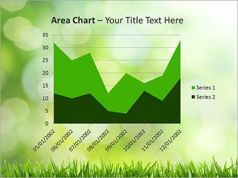 L'herbe verte fraîche Modèles des présentations  PowerPoint - Diapositives 33