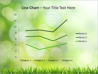 L'herbe verte fraîche Modèles des présentations  PowerPoint - Diapositives 34