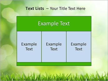 L'herbe verte fraîche Modèles des présentations  PowerPoint - Diapositives 39
