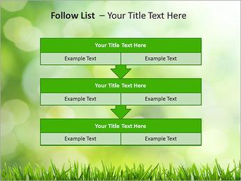 L'herbe verte fraîche Modèles des présentations  PowerPoint - Diapositives 40