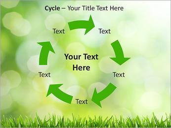 L'herbe verte fraîche Modèles des présentations  PowerPoint - Diapositives 42