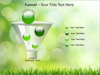 L'herbe verte fraîche Modèles des présentations  PowerPoint - Diapositives 43