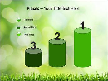 L'herbe verte fraîche Modèles des présentations  PowerPoint - Diapositives 45
