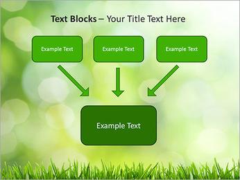L'herbe verte fraîche Modèles des présentations  PowerPoint - Diapositives 50