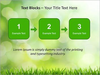 L'herbe verte fraîche Modèles des présentations  PowerPoint - Diapositives 51