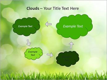L'herbe verte fraîche Modèles des présentations  PowerPoint - Diapositives 52