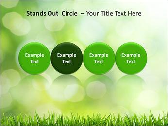 L'herbe verte fraîche Modèles des présentations  PowerPoint - Diapositives 56