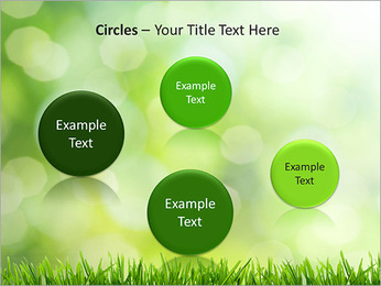 L'herbe verte fraîche Modèles des présentations  PowerPoint - Diapositives 57