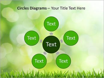 L'herbe verte fraîche Modèles des présentations  PowerPoint - Diapositives 58