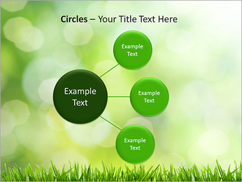 L'herbe verte fraîche Modèles des présentations  PowerPoint - Diapositives 59