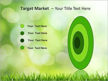 L'herbe verte fraîche Modèles des présentations  PowerPoint - Diapositives 64