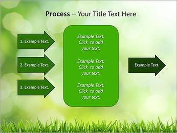 L'herbe verte fraîche Modèles des présentations  PowerPoint - Diapositives 65