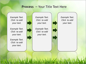L'herbe verte fraîche Modèles des présentations  PowerPoint - Diapositives 66