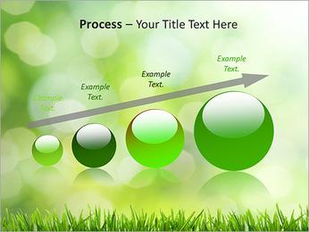 L'herbe verte fraîche Modèles des présentations  PowerPoint - Diapositives 67