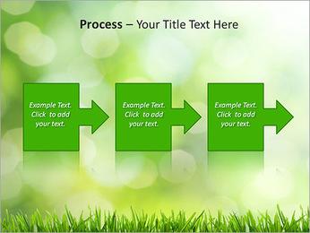 L'herbe verte fraîche Modèles des présentations  PowerPoint - Diapositives 68