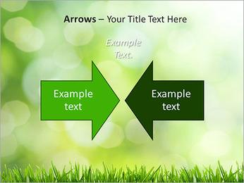 L'herbe verte fraîche Modèles des présentations  PowerPoint - Diapositives 70
