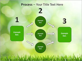 L'herbe verte fraîche Modèles des présentations  PowerPoint - Diapositives 72